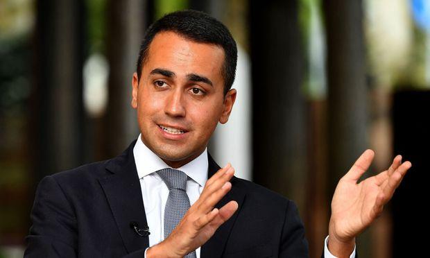 """Fünf Sterne-Bewegung sei ein """"Stabilitätsfaktor"""" für Italien, versicherte Di Maio"""