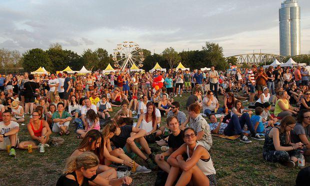 Archivbild: Besucher beim Donauinselfest