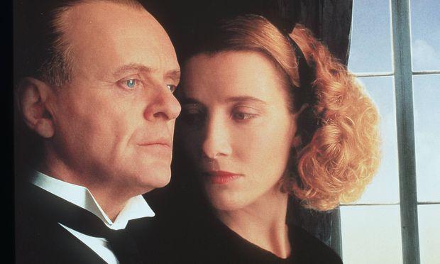 "Anthony Hopkins und Emma Thompson in ""Was vom Tage übrig blieb""."