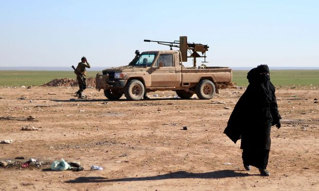 Der IS ist weit zurück gedrängt