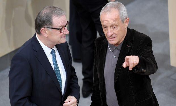 Karlheinz Kopf (ÖVP) und Neo-Listengründer Peter Pilz