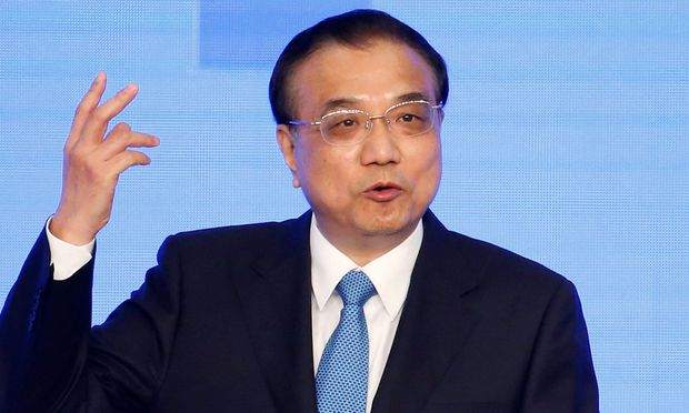 China's Premier Li Keqiang speaks during the opening ceremony of the 9th Global Conference on Health Promotion in Shanghai