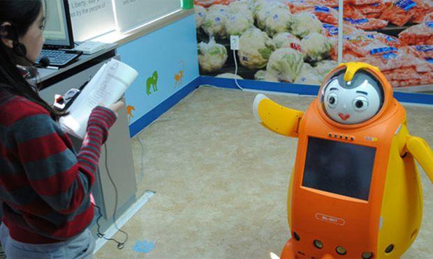 Suedkorea Roboter Englischlehrer
