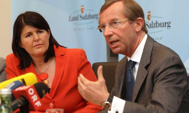 Salzburg Zerbricht Koaltion Finanzskandal