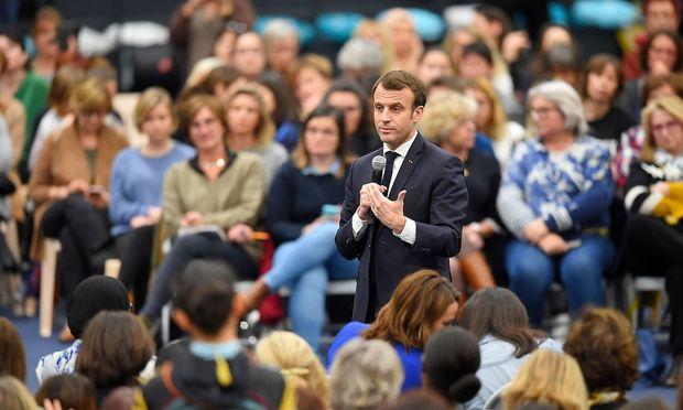 """Emmanuel Macron bekam für seinen Brief """"an Europa"""" viel Beachtung."""