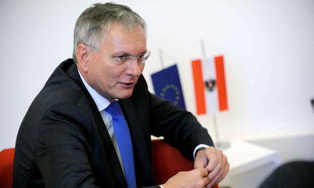 Sozial- und Arbeitsminister Alois Stöger