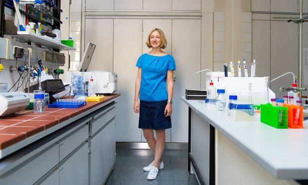 Therese Wohlschlagers entwickelte Analysemethode könnte auch bei der Erforschung von Allergenen und Antikörpern Fortschritte bringen.