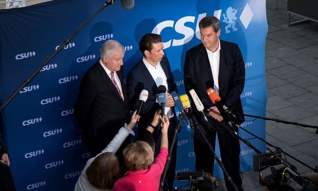 CSU-Wahlkampf-Abschlusskundgebung