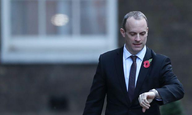 Dominic Raab, Großbritanniens Brexit-Minister, drängt auf eine Lösung im Streit um die innerirische Grenze.