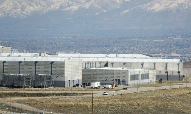 NSA data center in Bluffdale, Utah