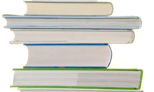 Buecherstapel - stack of books