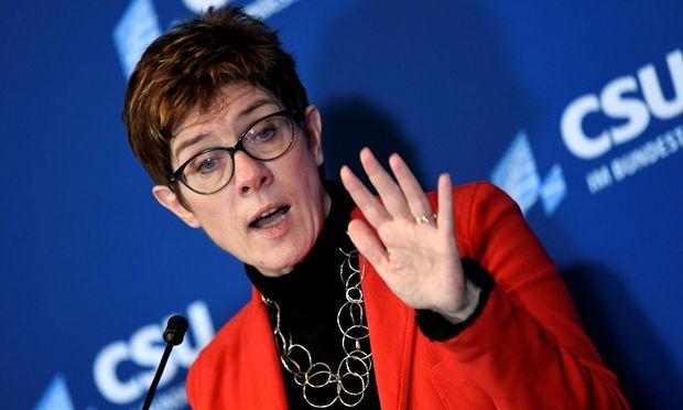 CDU-Chefin Annegret Kramp-Karrenbauer unterlief ein Fauxpas