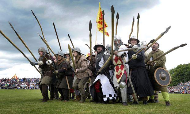 Im Juli 2014 wurde die englisch-schottische Schlacht von Bannockburn nachgestellt. Drei Monate später scheiterte knapp das Unabhängigkeitsreferendum.