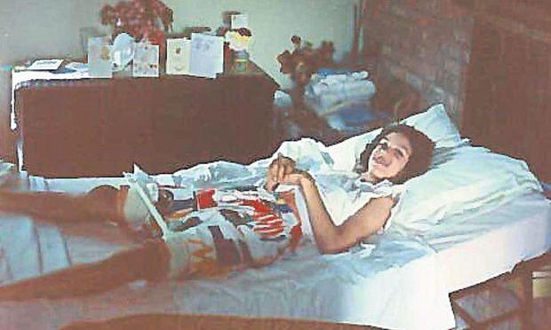"Als Kind bekam Jean Abbott die Diagnose ""infantile Zerebralparese""."