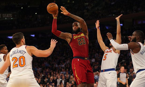 Knicks gegen Cavaliers