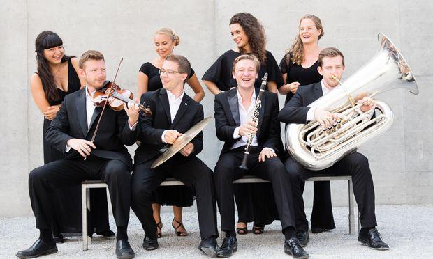 Das European Union Youth Orchestra.