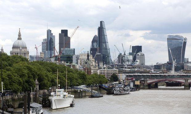 City Skylines As London Finance Jobs Surge