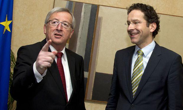 Jeroen Dijsselbloem, Jean-Claude Juncker