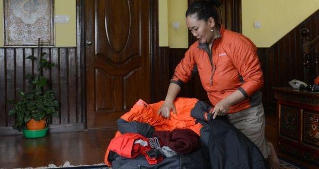 Lhakpa Sherpa bezwang den Mount Everest zum neunten Mal.