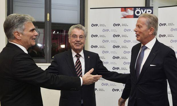 Faymann, Fischer, Mitterlehner