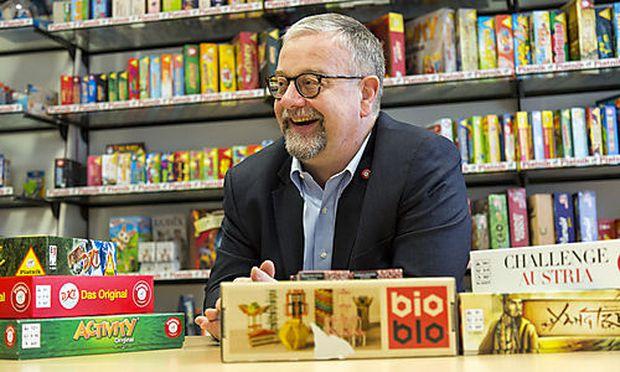 Piatnik-Geschäftsführer Dieter Strehl