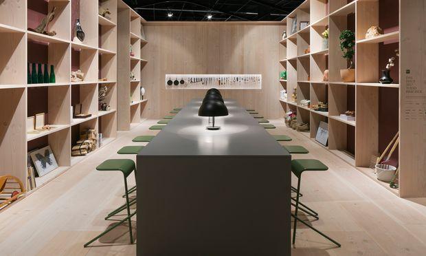 """Zukunft. Für die Möbelmesse IMM Cologne entwarf Bracher """"Das Haus""""."""