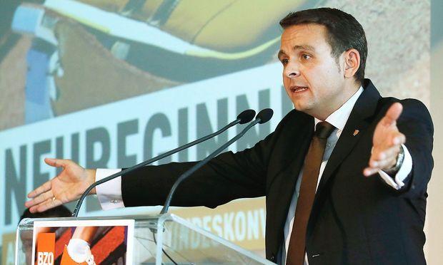Archivbild: Der damalige BZÖ-Chef Gerald Grosz im Jahr 2013