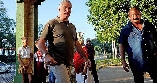 Miguel Diaz-Canel könnte Raul Castro als Präsident Kubas nachfolgen.