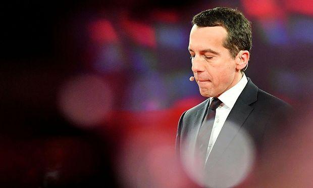 Noch-SPÖ-Bundesparteichef Christian Kern
