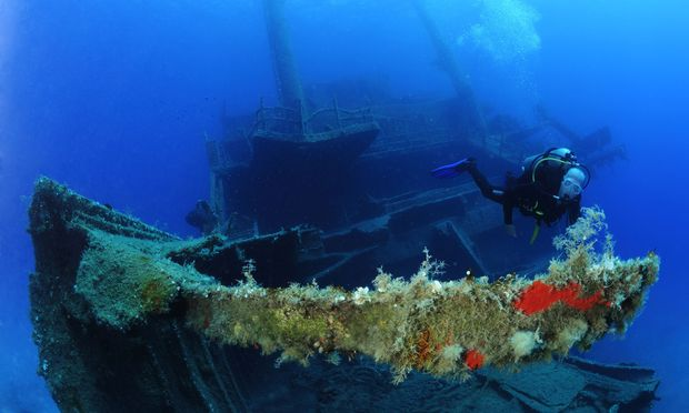 Zwischen Naxos und Paros liegt die Marianna