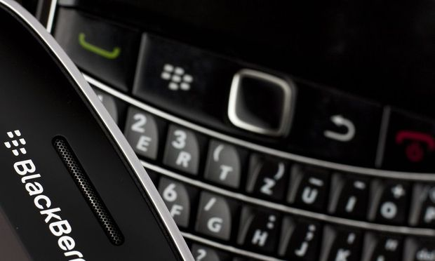 File photo of Research in Motion (RIM) BlackBerry smartphone handsets in this illustration picture taken in Lavigny