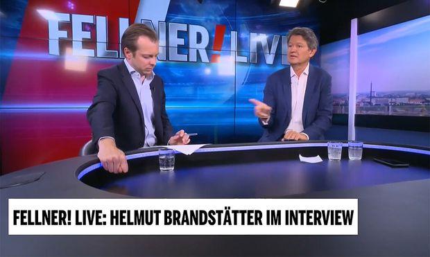 Niki Fellner hatte Helmut Brandstätter zu Gast