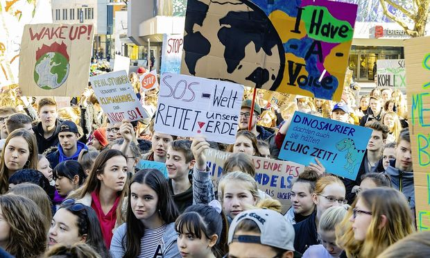 """FridaysForFuture"" in Stuttgart"
