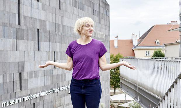 Die Choreografin Meg Stuart ist schon zum 16. Mal beim ImPulsTanz-Festival zu Gast.