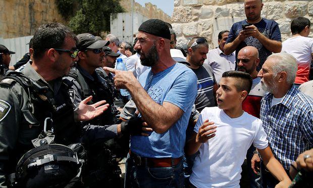 Wieder Verletzte bei Zusammenstößen in Jerusalemer Altstadt