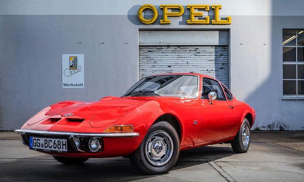 Traumauto aus Rüsselsheim, nur fünf Jahre gebaut: Opel GT, 1968–1973. / Bild: (c) Werk