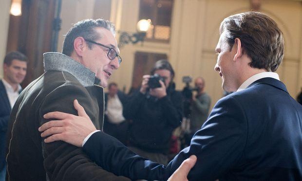 Sebastian Kurz und Heinz-Christian Strache: Millionen für den Wahlkampf