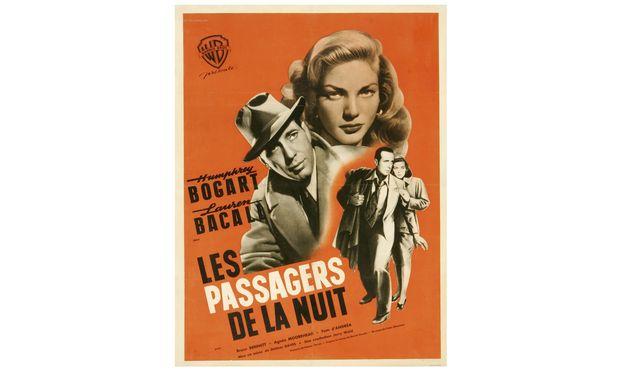 """Titelzersplitterungen sind in der Filmgeschichte kein Novum: Auf Französisch waren Humphrey Bogart und Lauren Bacall 1947 """"Les passagers de la nuit"""" (""""Die Passagiere der Nacht""""). / Bild: (c) Warner Bros."""