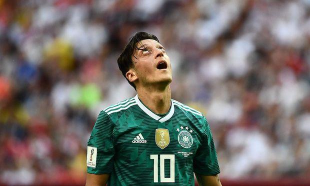 Mesut Özil nach der Niederlage gegen Südkorea und dem frühzeitigen WM-Aus