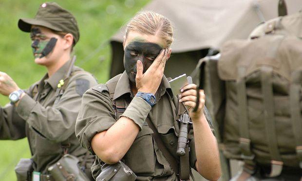 Frauen beim Bundesheer