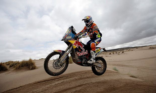 Dakar Rally - 2017 Paraguay-Bolivia-Argentina Dakar rally - 39th Dakar Edition - Seventh stage from Oruro to Uyuni, Bolivia.