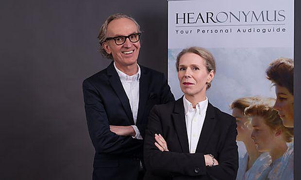 """Hearonymous""-Gründer Peter Grundmann und Claudia Grundmann"