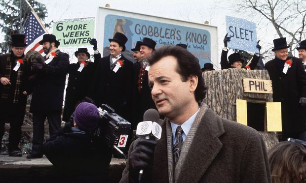 Film Still from Groundhog Day Bill Murray � 1993 Columbia Photo Credit Louis Goldman PUBLICATIONxIN