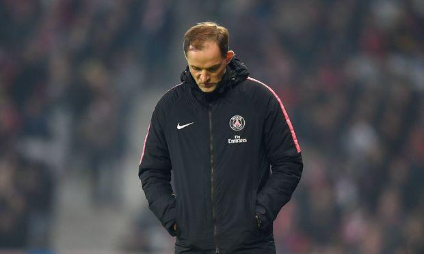 PSG-Trainer Tuchel war mit der Leistung in Nantes alles andere als zufrieden.