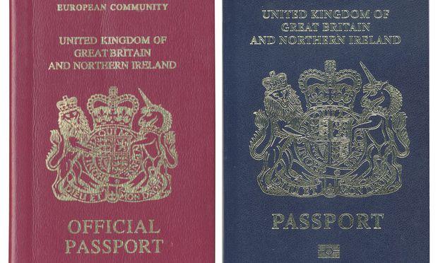 Die Briten verlassen die EU - ihre Pässe aber nicht