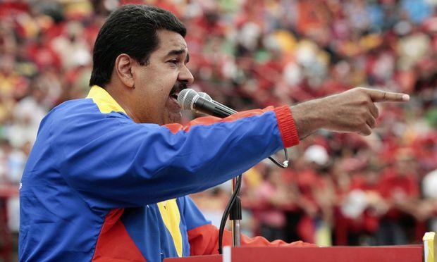 Venezuela Maduro meldet ChavezErscheinung