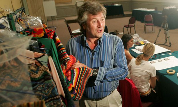 Vittorio Missoni marketing director of Italian couturier Missoni during an interview with Reuters.