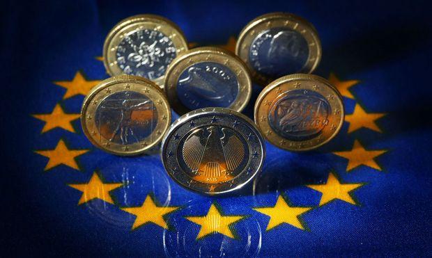 EU-Gipfel - Euro-Muenzen