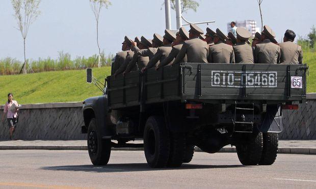 Nordkoreanische Soldaten  / Bild: (c) imago/ITAR-TASS (Alexander Demianchuk)