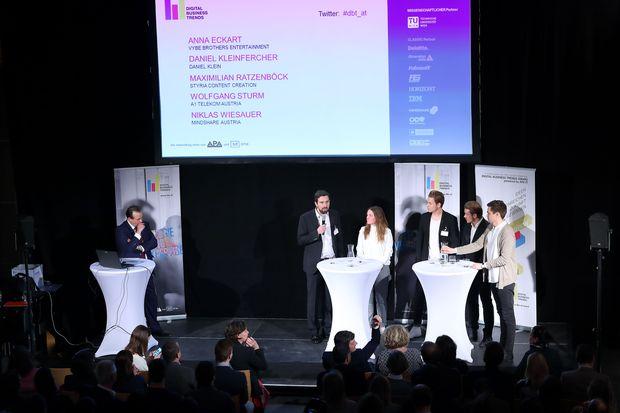 Bei den Digital Business Trends diskutierten die Experten u. a. über Kennzeichnung von Influencer-Kooperationen, Erfolgsmessung und Zukunft von Influencer Marketing.